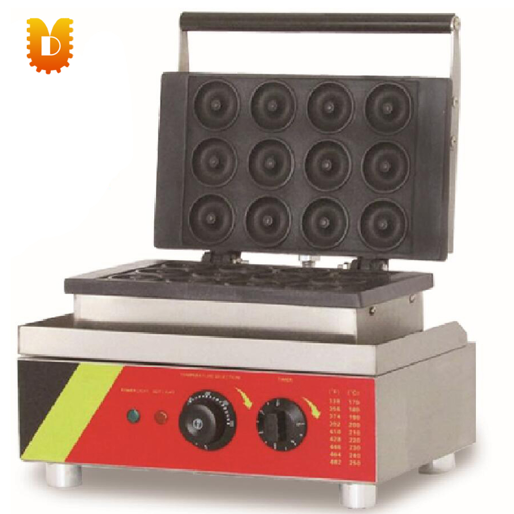 economical hot sell 12 PCS donuts waffle making machinedoughnut makers