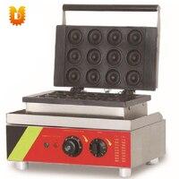 economical hot sell 12 PCS donuts waffle making machine/doughnut makers