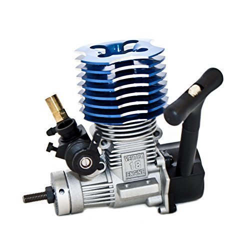 HSP 02060 BL VX 18 Engine 2.74cc Pull Starter blue for RC 1/10 Nitro Car Buggy Truck двигатель super tigre 18 nitro купить