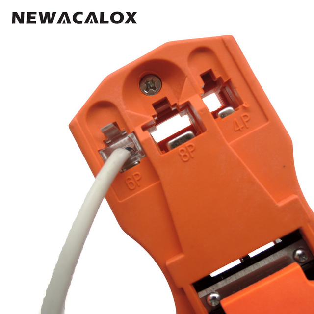 Tools Repair Modular Connector  Modular Plug Stripping Stripper Network Cutting Crimping Wire Cutter Cable Crimper