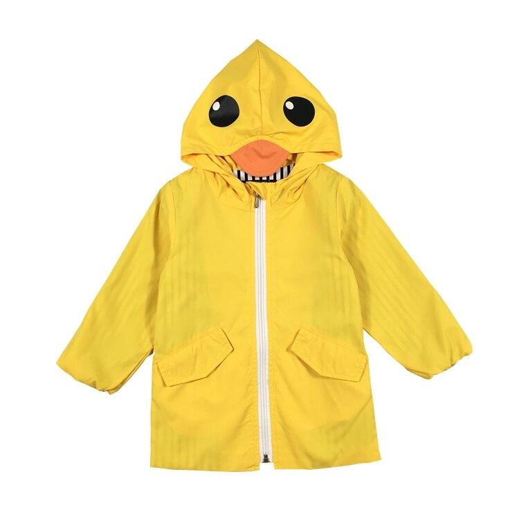 779dc635fb74 2017 New Cute Baby Girls Toddler Yellow Duck Cardigan Jacket Long ...