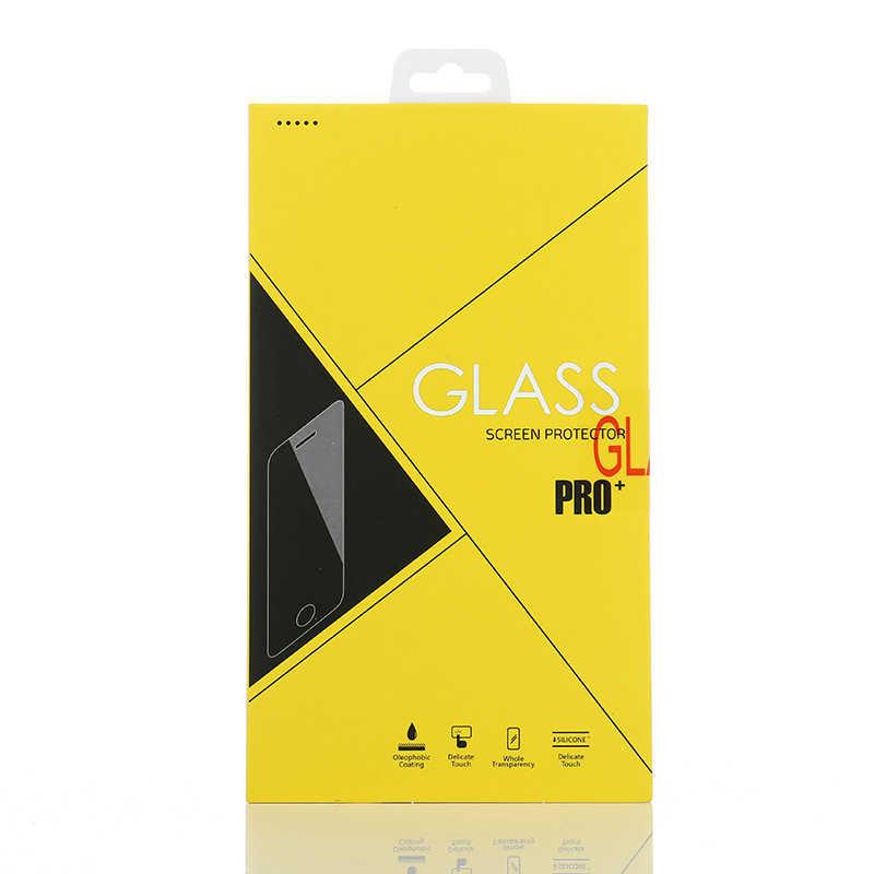 500 шт 9D закаленное стекло полное покрытие для Xiaomi Mi 9 8 SE Lite 6 6X F1 F2 Play изогнутые края Защитная пленка с желтая коробка