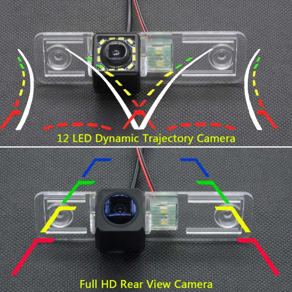175 degrés MCCD Fisheye Starlight caméra de recul de voiture pour nouveau Buick Excelle 2008 2009 2010 2011 Full HD 12 LED pistes dynamiques