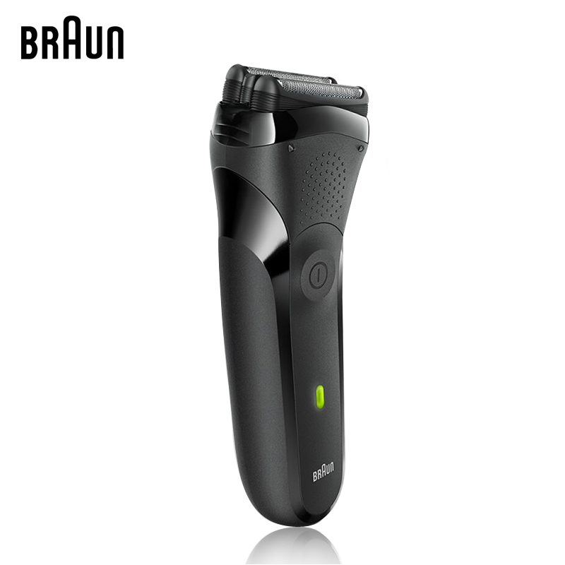 Braun Electric Shaver Floating Head Electric Razor Whole Body Washing Shaving Product for Men Safety Shaver 300S free shipping pritech body waterproof slience 3 head electric shaver shaving barbeador for men the blue color