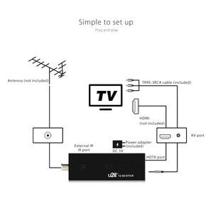 Image 3 - DVB t2 U2C T2 HD 1080P Digital Terrestrial TV Stick รีโมทคอนโทรลภาษาดัชคำ,ภาษาอังกฤษ,ฝรั่งเศส,อิตาลี,รัสเซีย,สเปนทีวี
