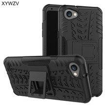 """Na telefony komórkowe dla Coque LG Q6 przypadku odporny na wstrząsy twardy Ruber na telefon z silikonu PC etui na LG Q6 M700 pokrywa dla LG Q6 p 6 m700 powłoki 5.5 """"XYWZV"""