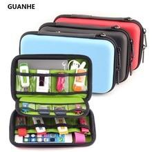 GUANHE водонепроницаемый чехол для наушников с жестким диском, USB флэш-чехол, сумки для хранения, органайзер, коробка для наушников, disque dur 2,5, жесткий диск