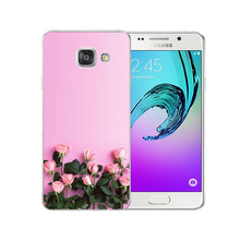 Beautiful Flowers Phone Case Samsung Galaxy S6 S7 Edge S8 S9 Plus A520 J4 J6 A7 A6 A8 Plus 2018 SF