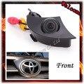 Горячие продажи CCD Широкий вид Спереди камеры для Toyota/RAV4/Corolla/Camry/Prado/Highlander/Land Cruiser/Avensis/Auris Парковочная система