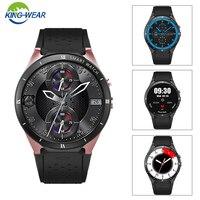 Kingwear kw88 pro 3g telefone smartwatch 1.39 polegada android 7.0 mtk6580 quad core 1.3 ghz 1 gb ram 16 gb rom relógio inteligente pk xiao mi|Relógios inteligentes| |  -