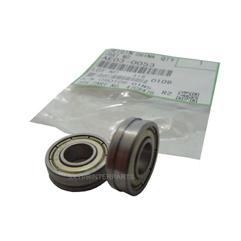 Free shipping 10sets New Compatible AE03-0053 8X19X6 Lower Roller Bearing for Ricoh Aficio 2051 2060 2075 high quality upper fuser roller compatible for ricoh mp9000 mp1100 mp1107 mp1350 mp1356 mp1357 mp1380 heating roller