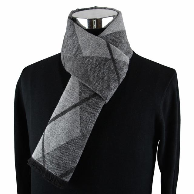 Мужской кашемировый шарф на каждый день 1