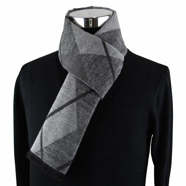 Nuevo diseño de moda casual bufandas de invierno de los hombres de la bufanda de la cachemira de la marca de lujo de alta calidad caliente Neckercheif Modal pañuelos hombres