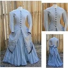 1860S Victorian Corset Gothic Civil War Southern Belle Ball Gown Dress Halloween dresses CUSTOM MADE R604