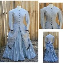 1860S Victorian Corset font b Gothic b font Civil War Southern Belle Ball Gown Dress Halloween
