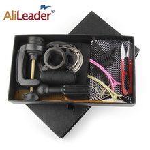 Alileader Wig Accessories Set Kit For Making Wigs DIY Human Hair Sets Starter Net/T Pains