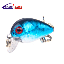 CRANK BAITS 2018 New professional hot fishing tackle Retail qulity lure 30mm 1.7g crank dive 2m for pike and bass YB205
