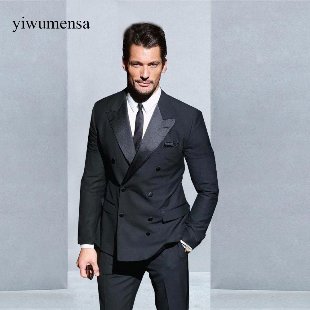 YWMS 467 trajes de hombre men\'s suits Custom Men Suits Charcoal ...