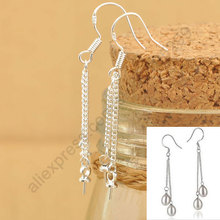 24Hours Handle100PCS Lot 925 Sterling Silver Jewelry Findings Double ROLO Chain 925 Sterling Silver Earring Hooks Earwire