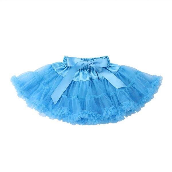 PUDCOCO/Милая юбка-пачка принцессы для маленьких девочек, балетная пышная многослойная юбка-американка из тюля вечерние танцевальные От 0 до 5 лет - Цвет: 1