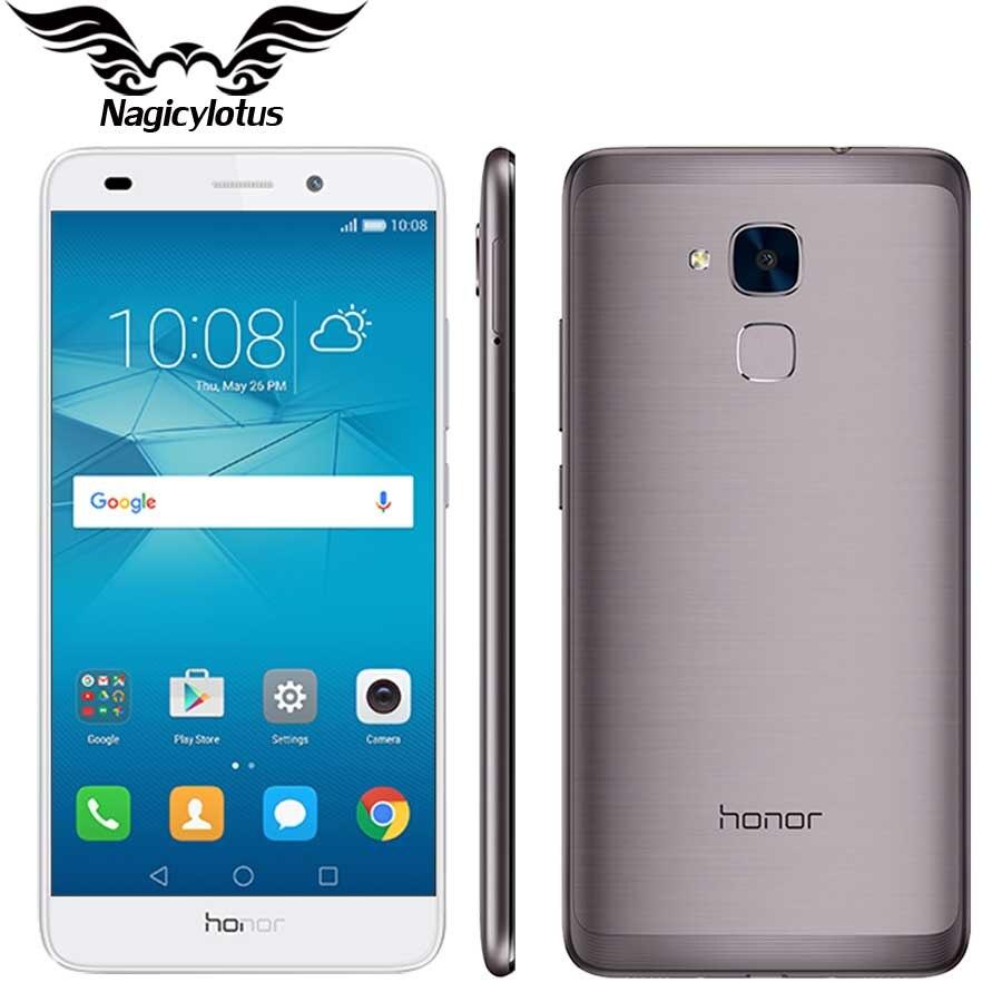 "Original HuaWei Honor 5C Kirin 650 Octa Core 4G FDD LTE Mobile Phone 5.2"" FHD 1080P 2GB RAM 16GB ROM 13.0MP metal Smartphone"