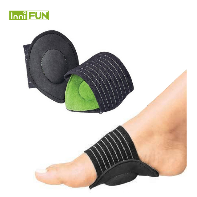 fdea27faf9 1 Pair Strutz Cushioned Arch Foot Support Decrease Plantar Fasciitis Pain  Correction Night Foot Care Corrector Thumb Goodnight