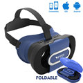 New VR GO Virtual Reality Glasses Foldable Mini VR Box 3D VR Game Headset for 4.7-6.0 inch Phone 96 Degree FOV