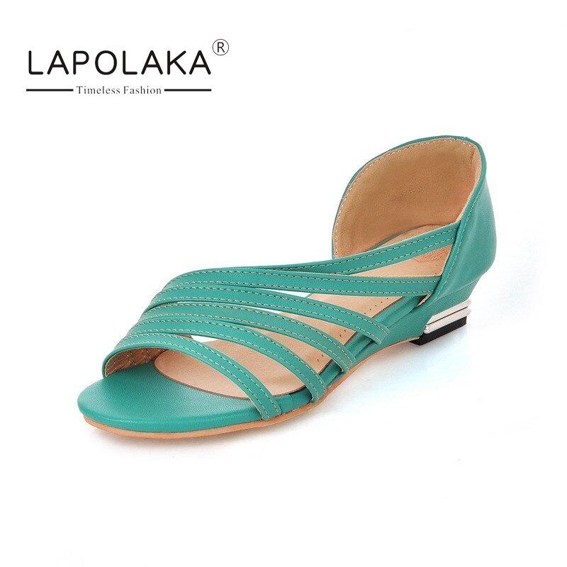 lapolaka big plus size 30 47 fashion summer shoes