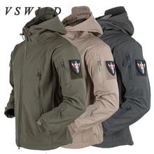 ФОТО autumn winter outdoor hiking jackets military men winter coats warm waterproof clothing windbreaker jacket camping coat fishing