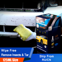 Rising Star RS B CSQ01 Car Paint Fly & Bug Removal Bug Splats Cleaner Wipe Free Dead Insect Remover 125ml Kit for DIY Users|car paint|car paint remover|paint cleaner -