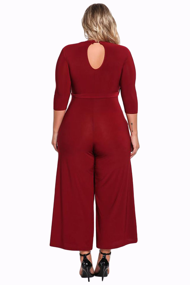 Red-Plus-Size-Cut-Out-Wide-Legged-Jumpsuit-LC64344-3-2
