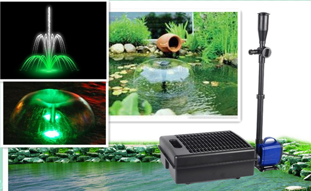Koi pond small fountain pump filter integrated filter pool for Koi pond pool filter