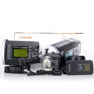 Image 4 - Godox wistro ad600bm bowens 마운트 hss 1/8000 s 야외 플래시 2.4g x 시스템 내장 8700 mah 리튬 배터리 무료 가방