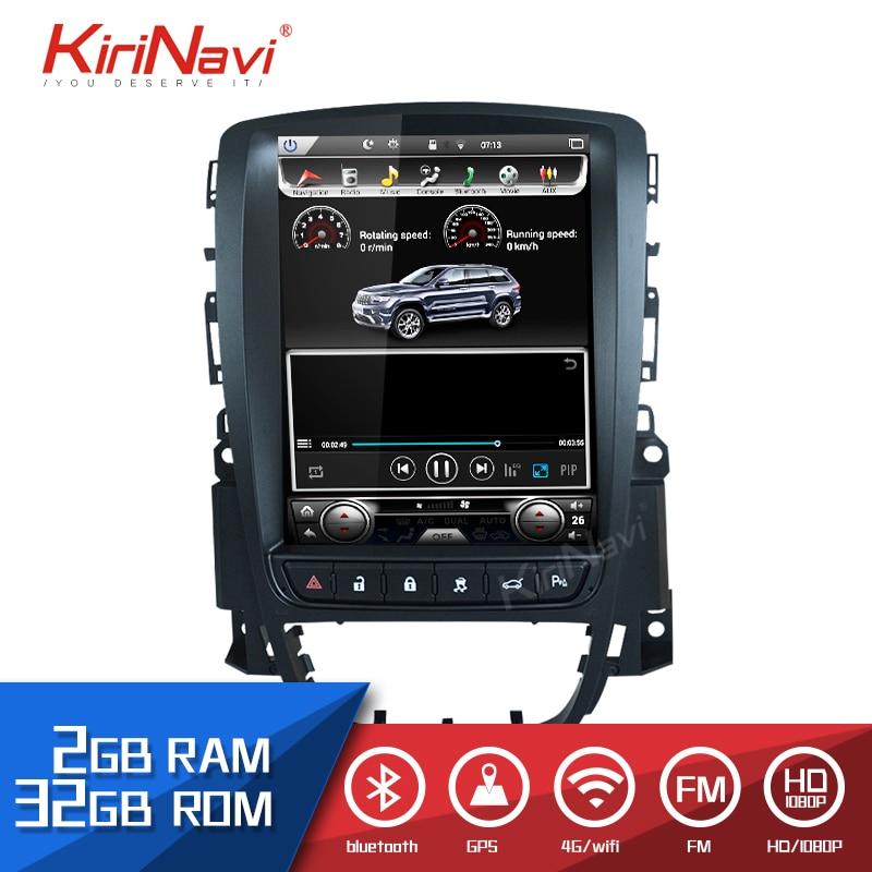 Lecteur radio vidéo de navigation gps de voiture Android 8.1 pour autoradio stéréo auto navigaton multimédia opel ASTRA J 1 2 Din