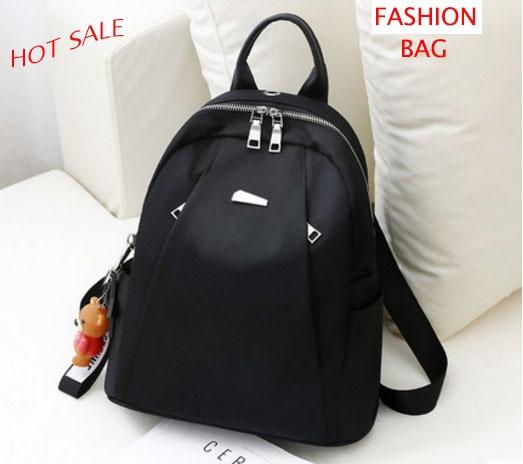 5dc8f70baa Oxford cloth shoulder bag female 2018 new trend Korean fashion wild bag  travel canvas small backpack new fashion black bag