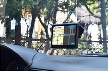 7 inch IGO8 / 9 vehicle GPS Navigator car navigation out door travel navigation handheld GPS IGO9 800*480 FM
