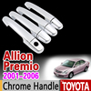 Allion 2007 2016 Chrome Handle Cover Trim Set 2008 2009 2010 2011 2012 2013 2014 2015