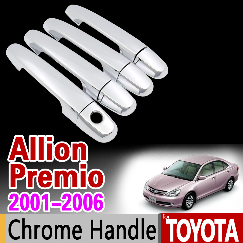 For Toyota Allion Premio 2001 2006 Chrome Handle Cover