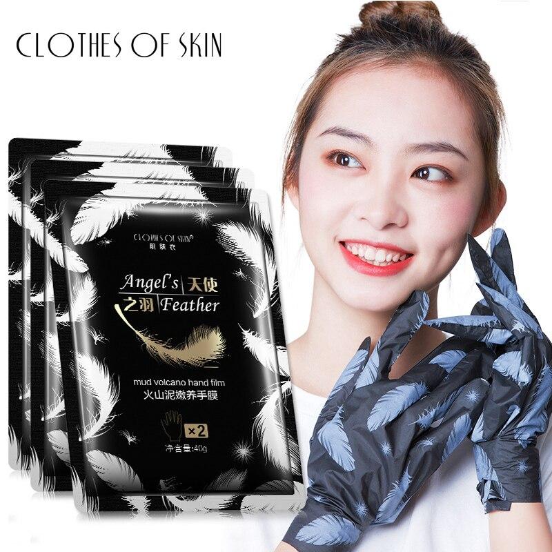 Volcanic Mud Anti-Aging Moisturizing Hand Mask Exfoliating Smoothing Whitening Hand Spa Gloves Skin Care CLOTHES OF SKIN Pakistan