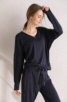 Free shipping.Spring Brand women Sleep Pajamas set,sleeping home clothing,cotton Eur plus size sleeping wear for woman,soft.