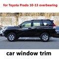 Auto Exterior Zubehör Styling Fenster Trim für Toyota Prado 2010-2013 anmaßend Edelstahl Dekoration Streifen