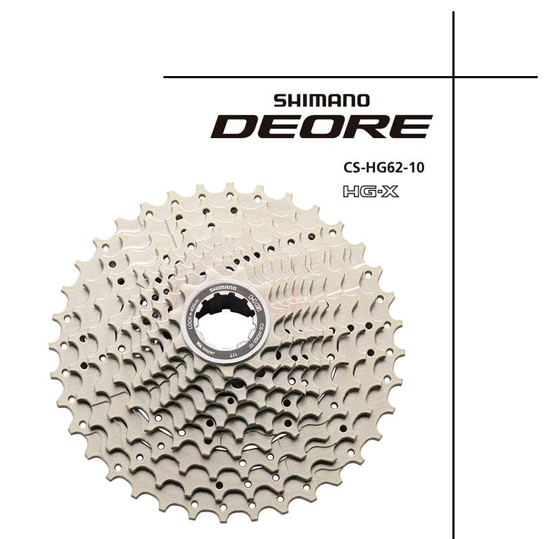 shimano DEORE CS-HG62-10 Cassette 10s Sprockets MTB bicycle bike freewheel CS HG62 10 цена