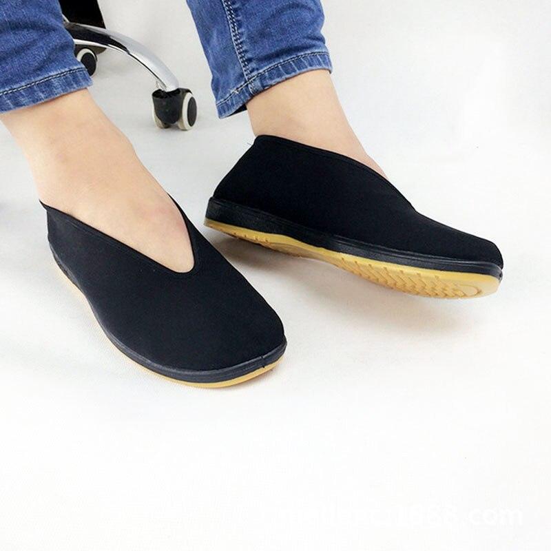 e54b3727ad1 Cheap Unisex artes marciales Kung Fu zapatos Bruce Lee chino tradicional  tela Tai Chi zapatos para