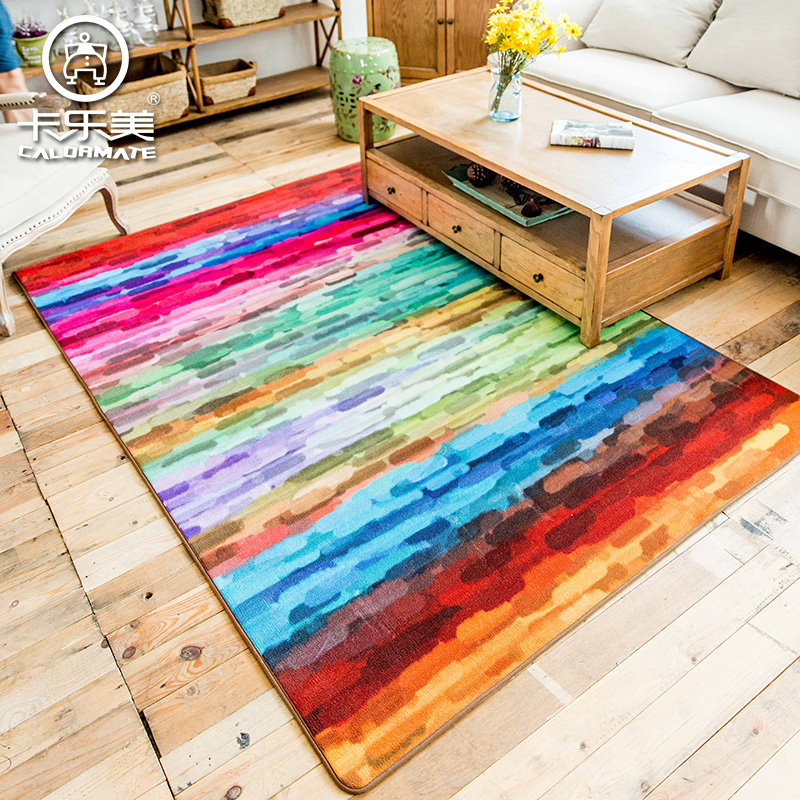 200cm*300cm minimalist sofa Carpet living room coffee table alfombra bedroom Mats crawling Mat color personalized Ottomans