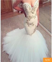 Luxury-Beaded-Tulle-Mermaid-Wedding-Dresses-2017-Elegant-Sweetheart-Appliques-Ruffles-Bridal-Gown-Vestido-De-Noiva
