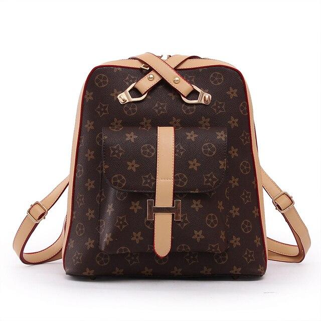 Aliexpress.com : Buy Luxury Leather Backpacks for Teenage Girls ...