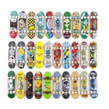 10 шт. случайный гриф 96 мм мини скейтборд оригинальные игрушки для мальчиков План B элемент слепой Зоопарк Йорк флип