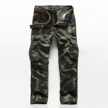 men's camouflage cargo Casual Pants 4 colors brand clothing cotton pant men militar trousers military army pants