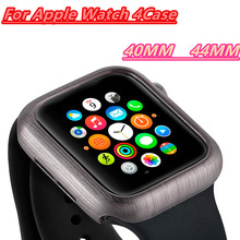 Slim Watch Cover Series For Apple 4 40MM 44MM Plastic Case PC Material Drawing Pattern Screen Iwatch