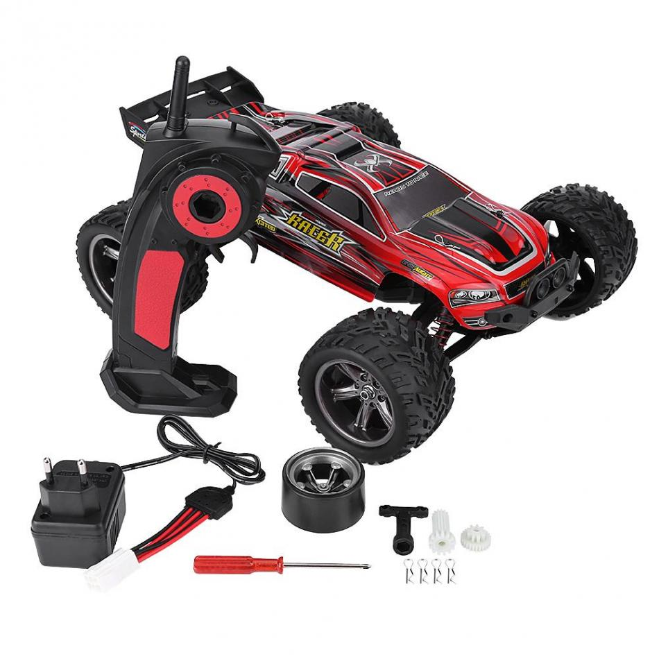 2.4GHz RC Cars 1:12 Big Foot Truck 9116 Buggy 220-240V RC Car Off Road Remote Control Four-Wheel Drive Model Crawler Car Toy kingtoy detachable remote control big digger size kingtoy fun 1 28 multifuncional rc farm trailer tractor truck free shipping